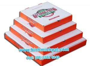 hộp giấy bánh pizaa