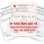 In hóa đơn tại Biên hòa Đồng Nai