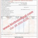 In hóa đơn tại quận 12