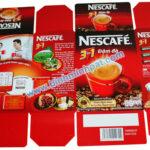 Sản xuất hộp giấy, túi giấy cho ngành Cà phê