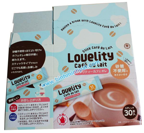 mẫu hộp giấy cafe xuất khẩu