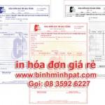 In hóa đơn ở Tây Ninh