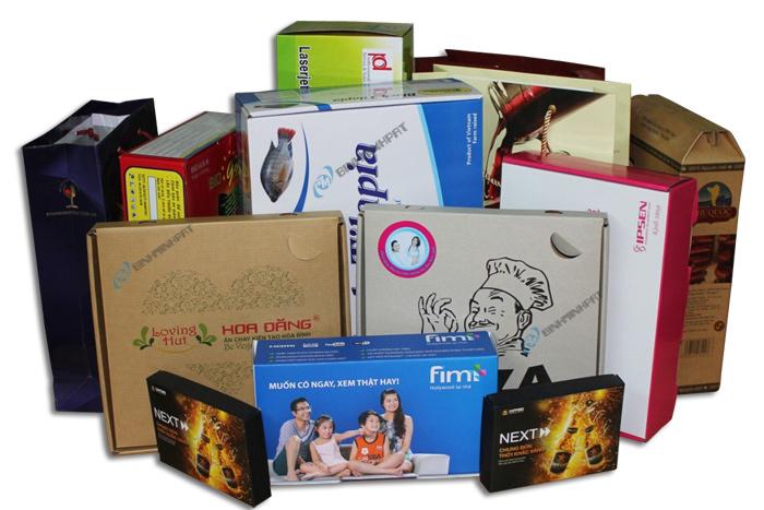 Công ty sản xuất hộp giấy