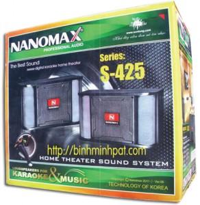 in thùng carton loa NANOMAX S-425