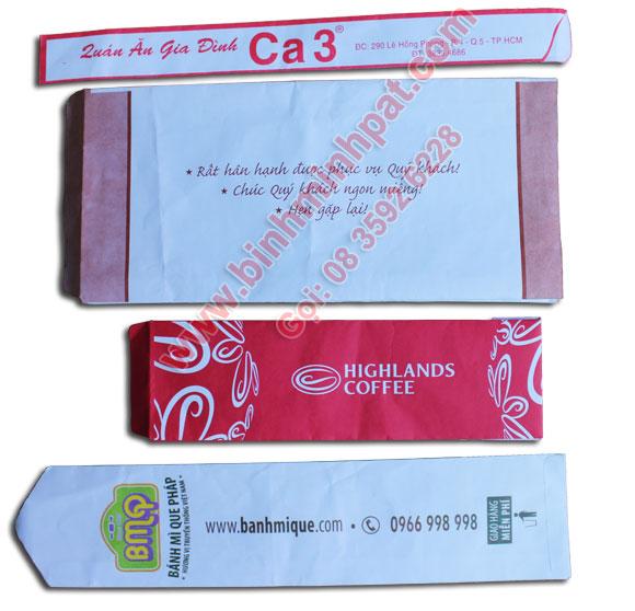 Công ty sản xuất túi giấy đựng bánh mì tại Tp.HCM