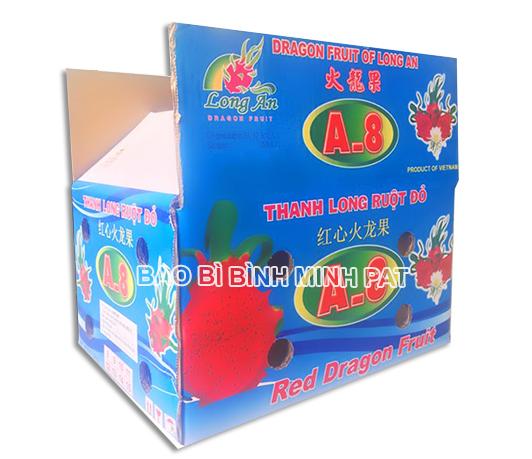 sản xuất thùng đựng trái cây Thanh Long xuất khẩu - hinh 1