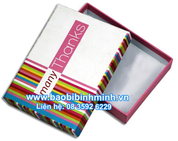 hộp giấy 7 sắc cầu vòng