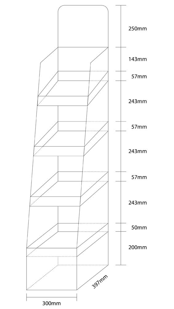 Thông số kỹ thuật Kệ giấy Beautyfair 10