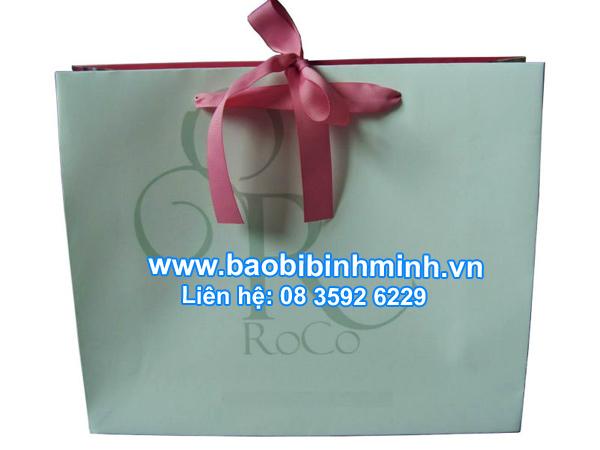 mẫu túi giấy in offset thời trang