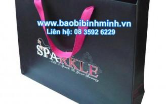 túi giấy cho các shops thời trang