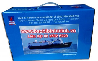 Hộp giấy Bmp-01 cho doanh nghiệp khảo sát và công trình ngầm PTSC.