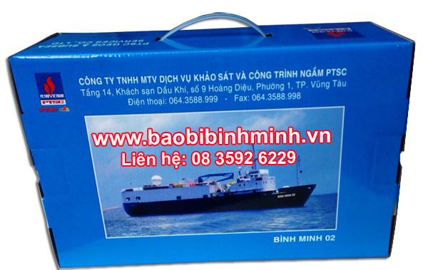 Mẫu Hộp giấy Bmp-1021 cho doanh nghiệp tham khảo.