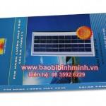 Hộp carton đựng pin năng lượng mặt trời