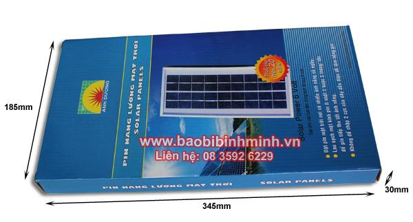 chi tiết hộp carton đựng pin mặt trời