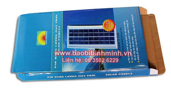 hộp pin năng lượng mặt trời