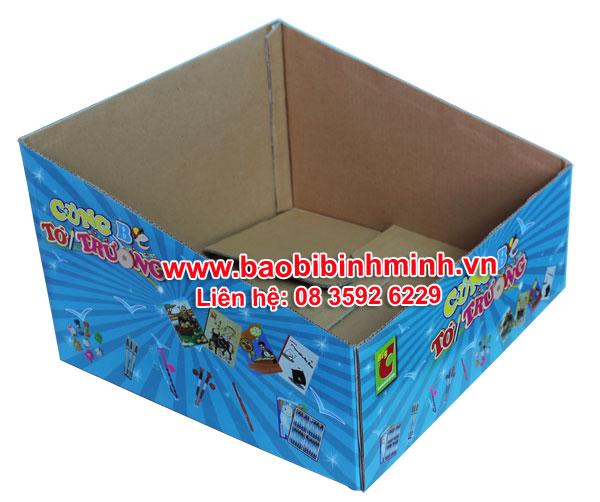 Mẫu khay giấy carton in offset