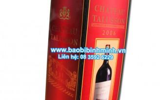 hộp rượu vang in offset