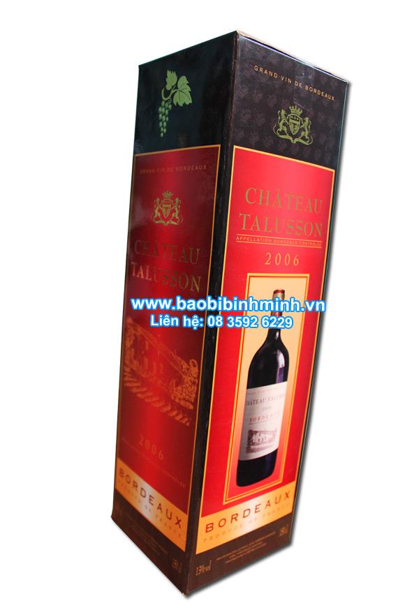 Hộp đựng rượu cao cấp BORDEAUX