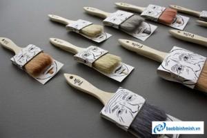 Poilu paintbrushes