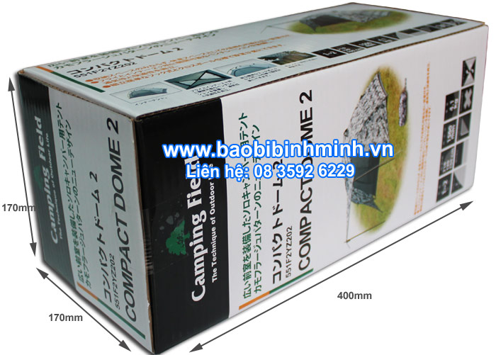 Hộp giấy carton in offset - Camping Field