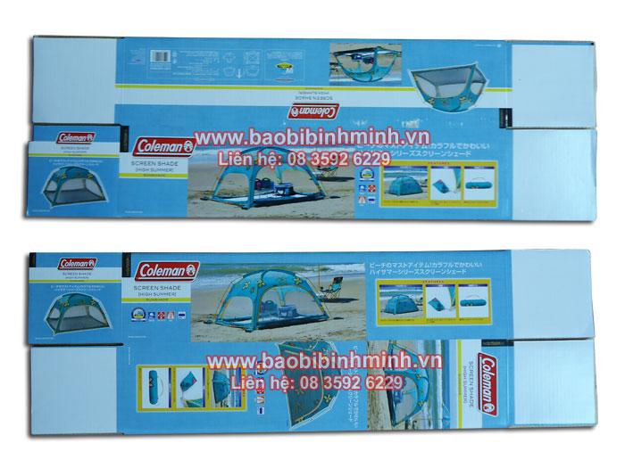 Hộp giấy carton Coleman - Screan Shade (High Sumer)