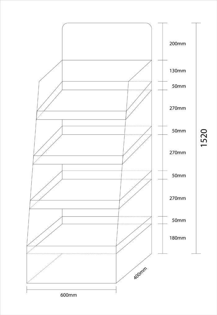 Thông số kỹ thuật kệ giấy 2014