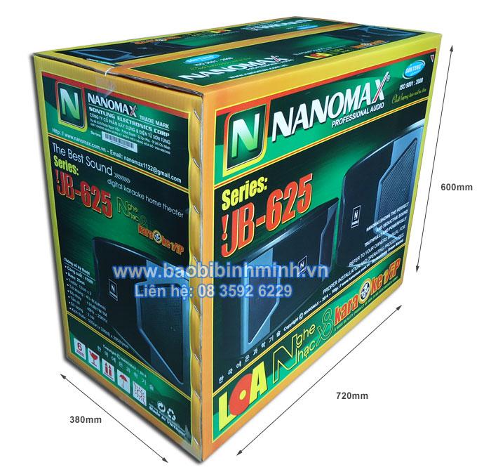 thông số thùng carton 5 lớp in offset