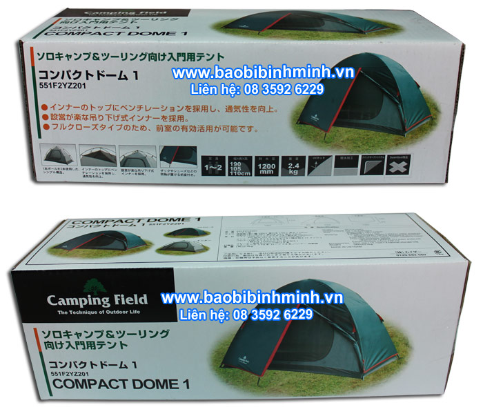 Hộp giấy compact dome 1