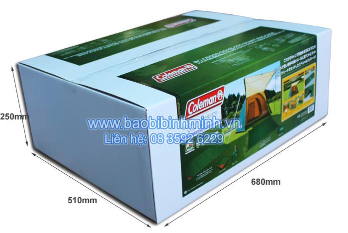 thùng carton in offset khổ lớn