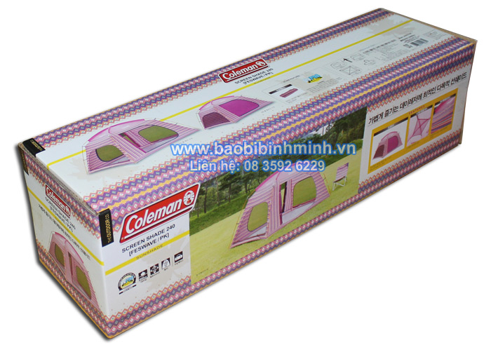 Hộp carton in offset đựng lều