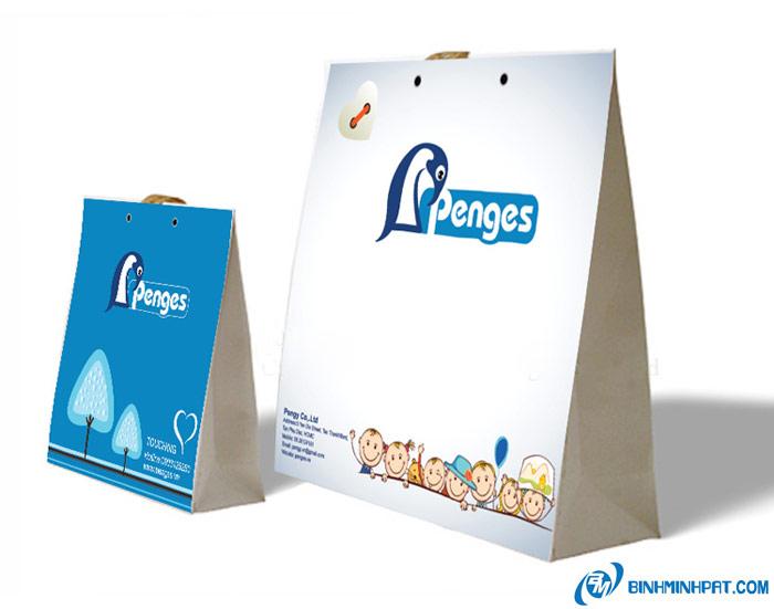 túi giấy thời trang Penges