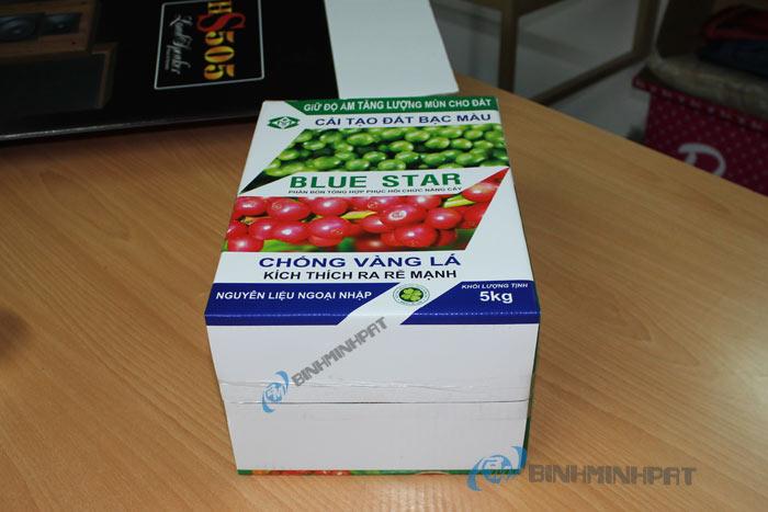 thùng carton phân bón BLUE STAR .