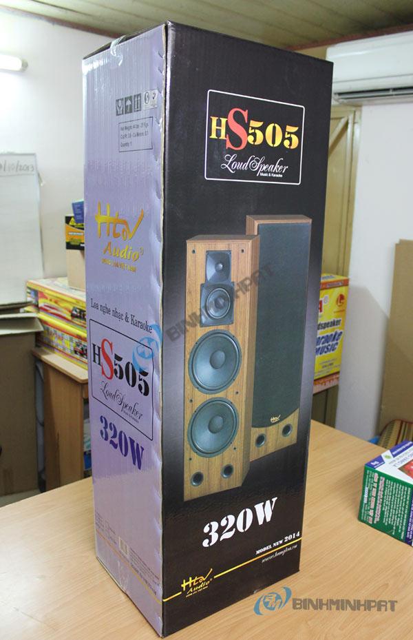 In thùng carton khổ lớn đựng loa HS505