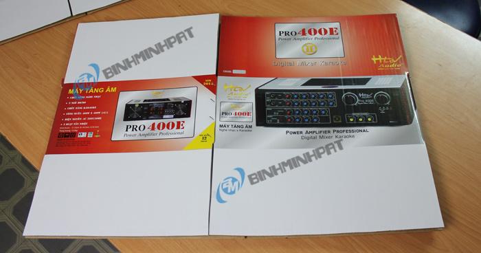 Thùng carton Ampli - Pro 400E