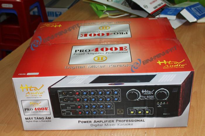 Thùng carton in offset đựng Ampli – Pro 400E