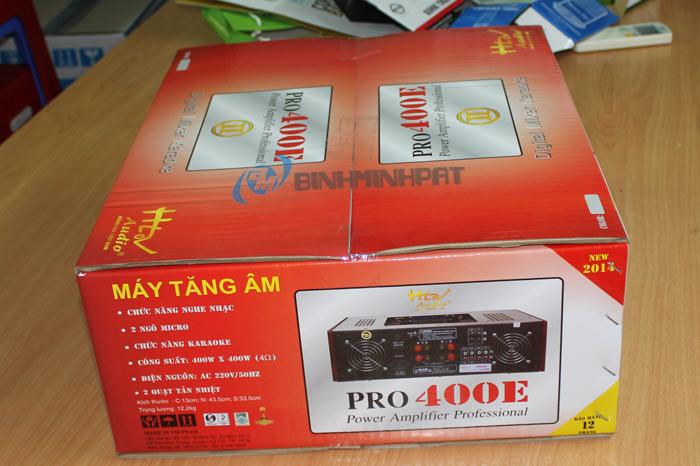 Thùng carton in offset đựng Ampli - Pro 400E
