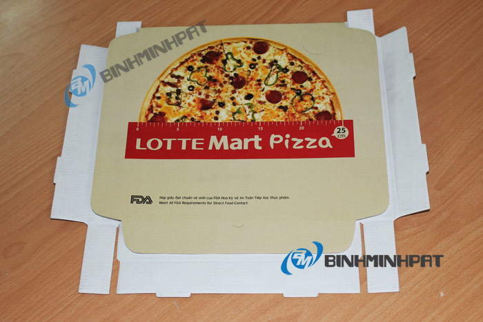 Hộp Pizza Lotte Mart