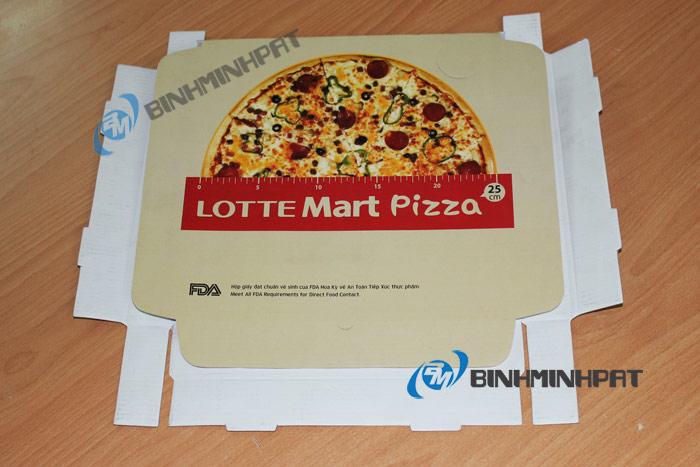hộp pizza lotte Mart