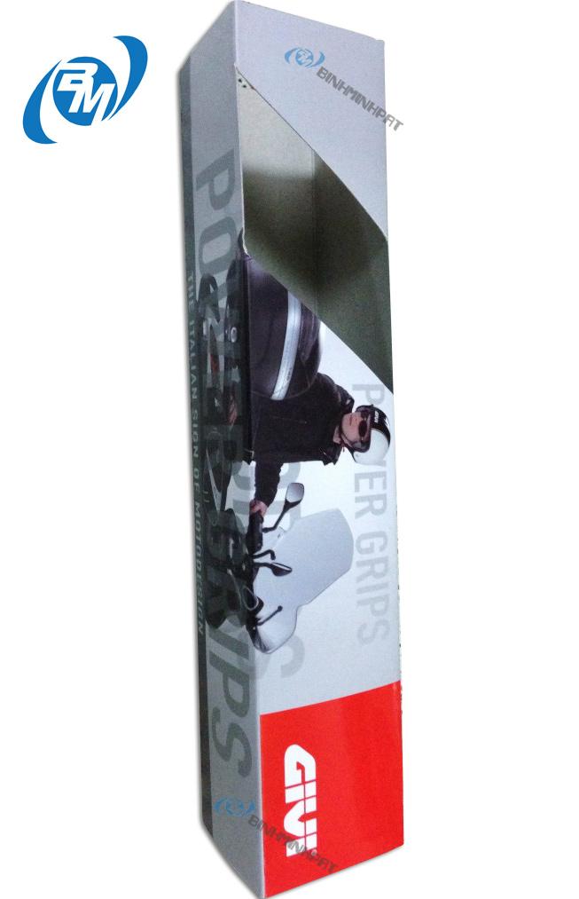 hộp carton đóng gói phụ kiện xe máy