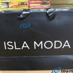 túi giấy ISLA MODA in offset cán màng bóng cao cấp