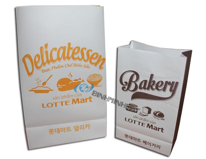 Túi giấy Lotte Mart