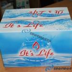 Thùng nước khoáng It's Life