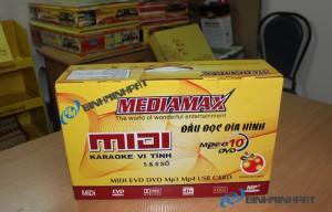 in thùng carton đựng đầu DVD Karaoke