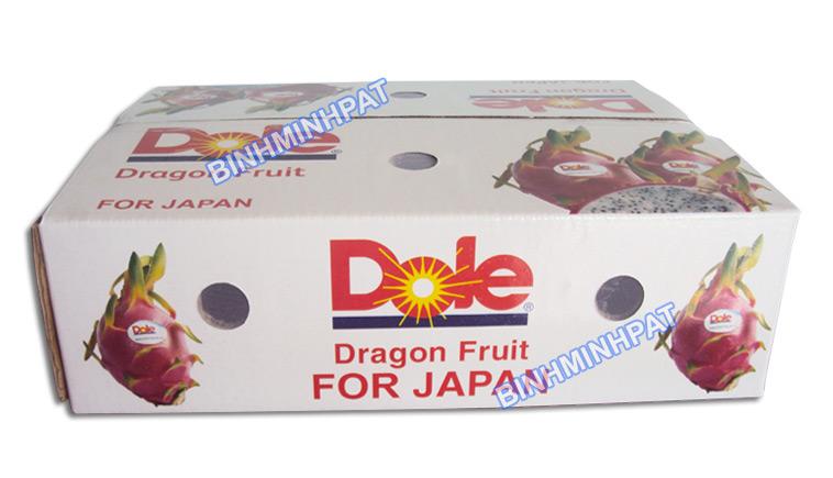 in thùng carton 5 lớp đựng rau củ quả xuất khẩu
