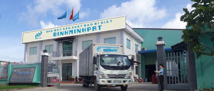 Nhà máy sản xuất bao bì giấy Binh Minh PAT