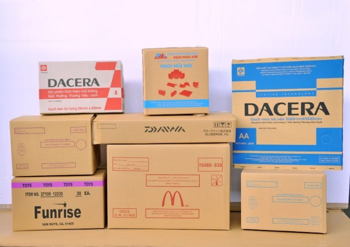 sản xuất bao bì thùng carton tại tỉnh Long An