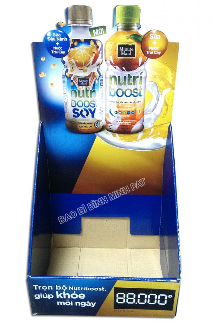 Kệ giấy carton trưng bày sữa -hinh 4