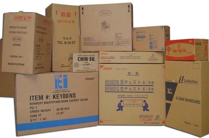 Công ty sản xuất thùng carton in flexo 5 lớp