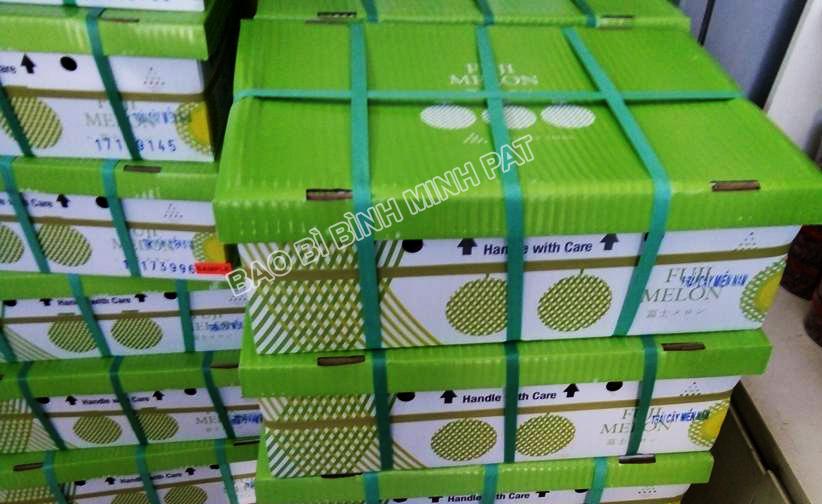 sản xuất thùng carton đựng dưa lưới xuất khẩu - hinh 4