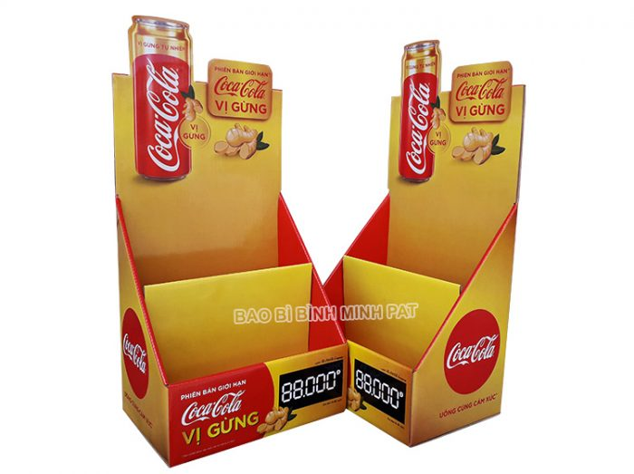 Kệ giấy trưng bày Coca Cola - hinh 1